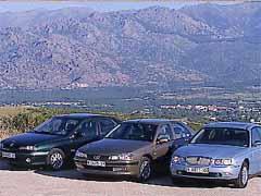 Peugeot 406 3.0 V6 SV/ Renault Laguna 3.0 V6 Initiale/ Rover 75 2.5 V6 Club