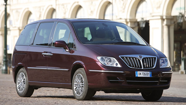Lancia Phedra, comodidad ante todo