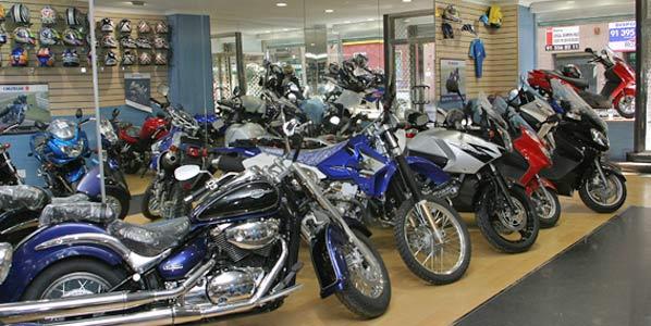 El sector de las motos, en grave crisis