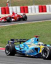 Schumacher vs Alonso