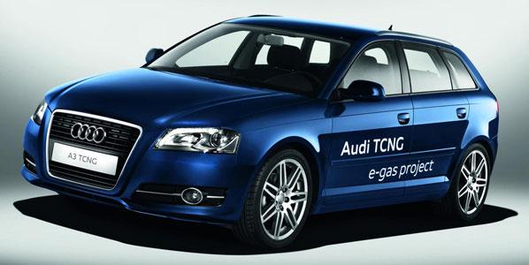 Nueva tecnología Audi e-gas