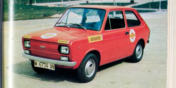 Seat 133, el coche de 1975
