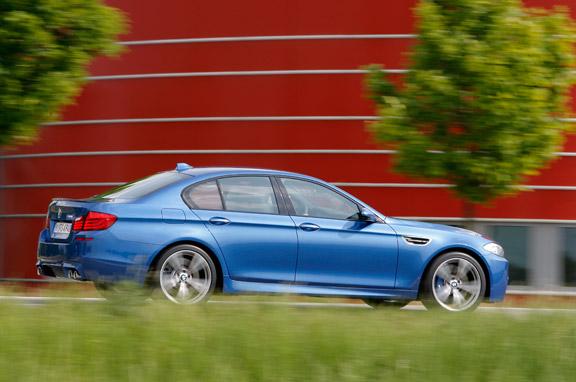 Nuevo BMW M5 a escena