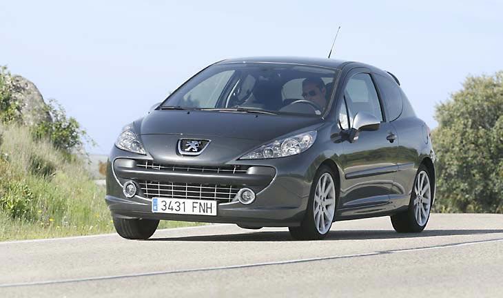 Peugeot 207 RC: la prueba