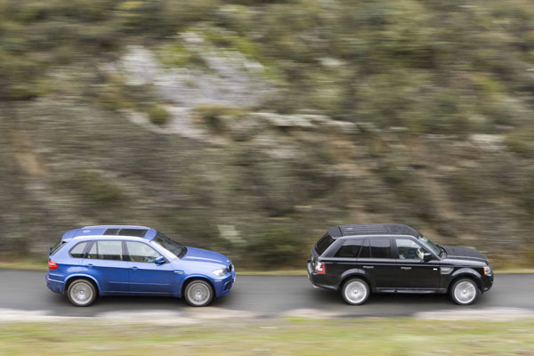 Bmw X5m Vs Range Rover Supercharged Bmw X5m Vs Range Rover