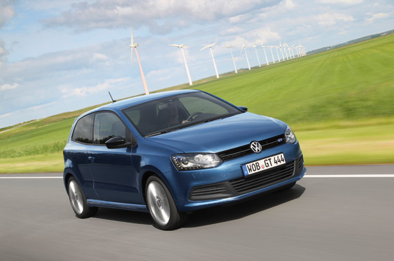 Al volante del VW Polo Blue GT