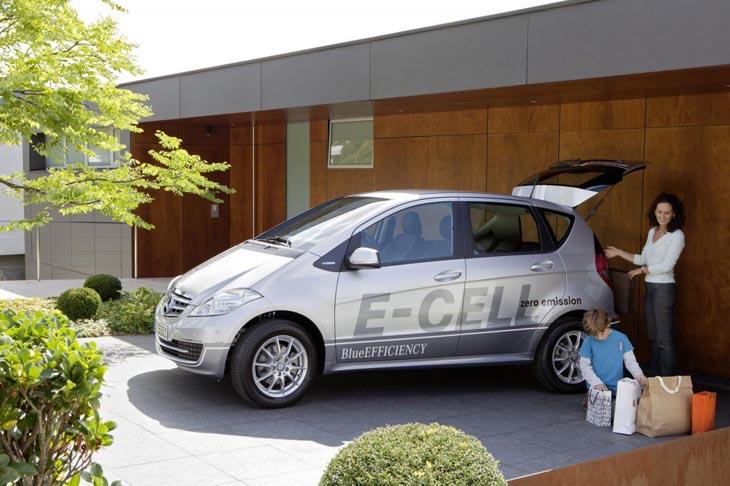 Mercedes Clase A E-Cell.
