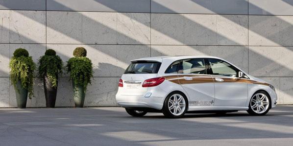 Mercedes Clase B E-Cell Concept