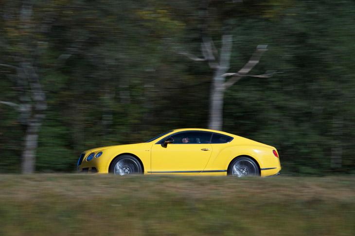 Bentley Continental GT Speed el contacto