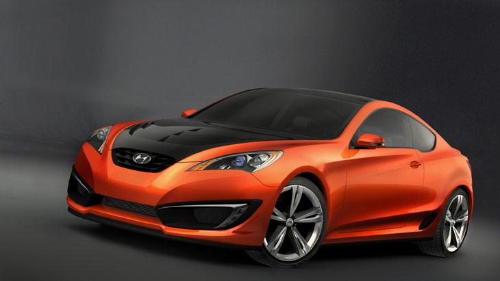 Hyundai Genesis Coupé concept