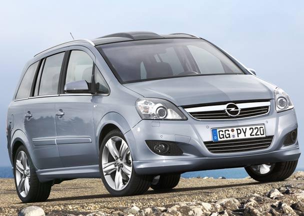 El Opel Zafira se actualiza