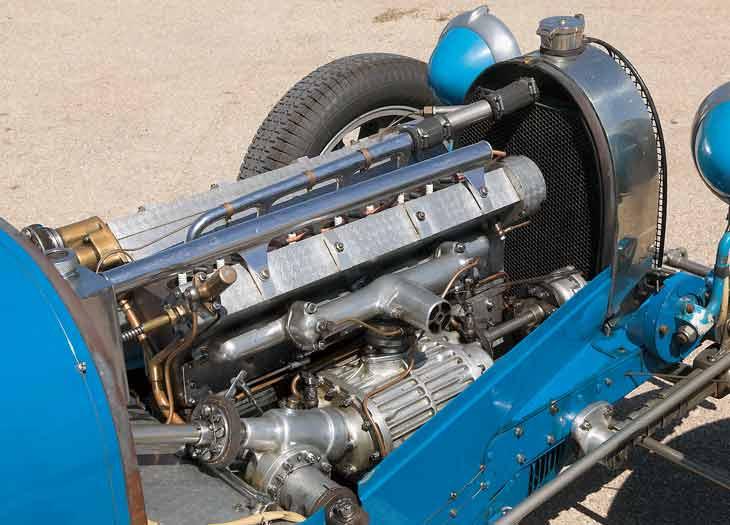 Bugatti Tipo 51, al detalle