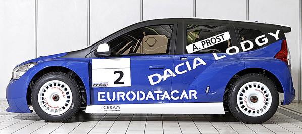 Lodgy, el primer monovolumen de Dacia