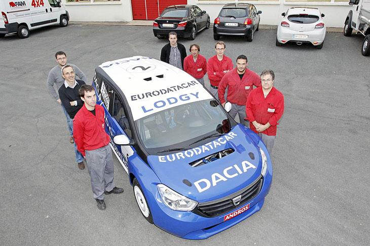 Dacia Lodgy Hielo.