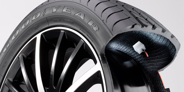Los neumáticos que se inflan solos, entre los mejores inventos de 2012