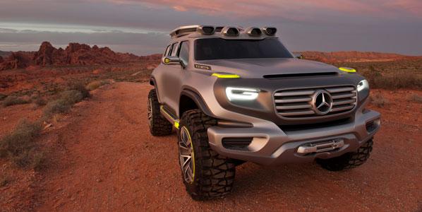 Mercedes Ener-G-Force, el Clase G del futuro