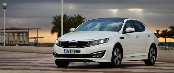 Kia Optima Híbrido, ya a la venta por 34.705 euros