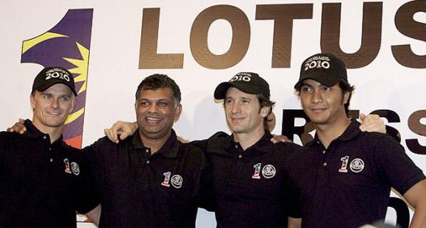 F1: Lotus y Virgin confirman sus pilotos.