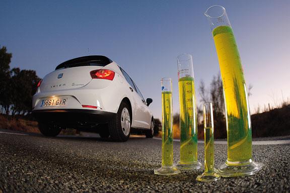 Seat Ibiza Ecomotive, la prueba