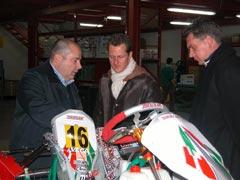 Schumacher, ahora en el karting