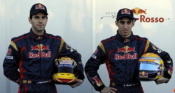 Toro Rosso se presenta con Alguersuari
