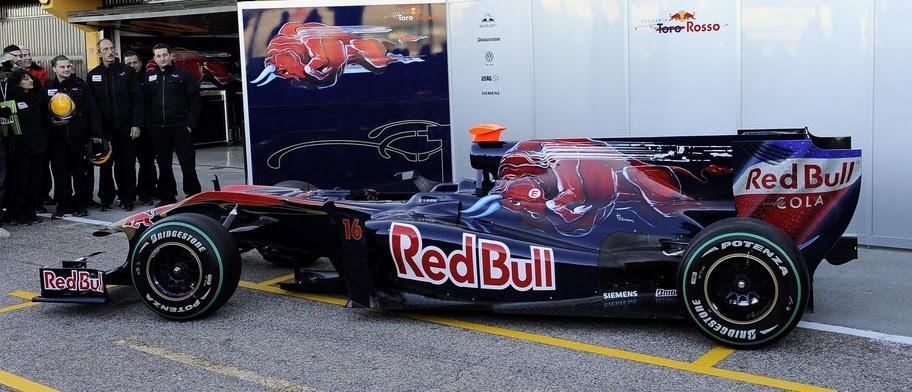 Presentación Toro Rosso.