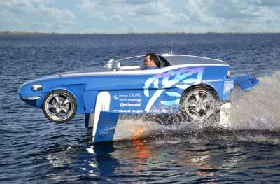 Rinspeed Splash: por tierra y por mar