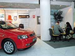 Caen las ventas de coches en Europa