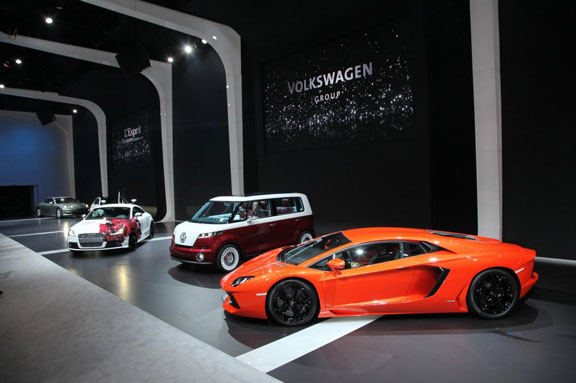Lamborghini Aventador en Ginebra 2011