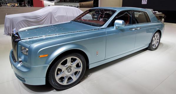 Rolls-Royce 102EX, el Phantom eléctrico
