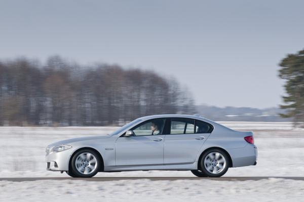 BMW M550D el contacto
