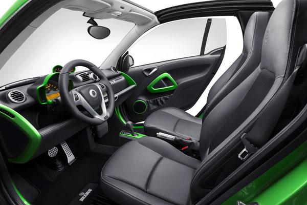 Smart Brabus Electric Drive, en Ginebra