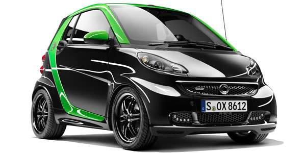 Smart ForTwo Brabus Electric Drive, tuning eléctrico