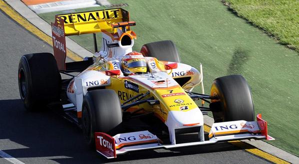 Fernando Alonso busca el podium