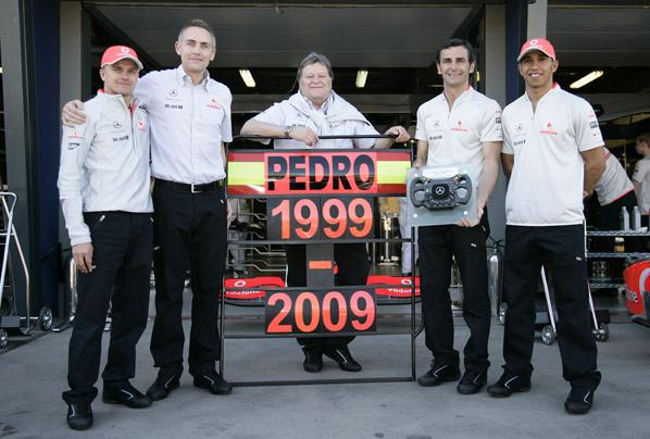 Pedro de la Rosa: Diez años de F1