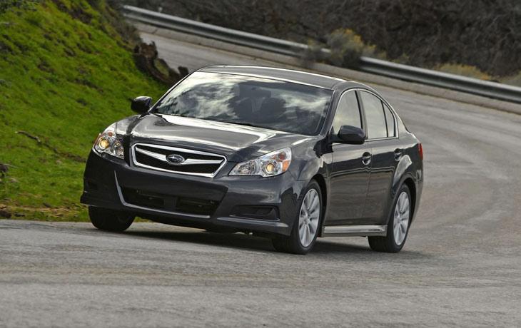 Subaru Legacy, al detalle
