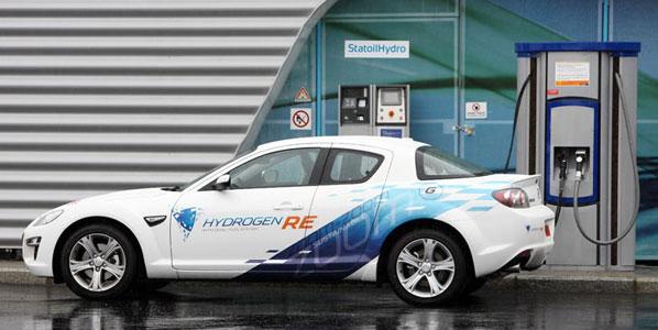 Pila de combustible de hidrógeno