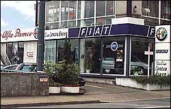 Italia se aleja de Fiat