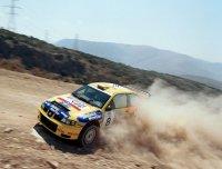 McRae y Sainz marcan el ritmo en Grecia