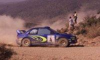 Sainz resiste en la batalla del Rally Acrópolis