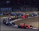 Ralf Schumacher gana una carrera caótica