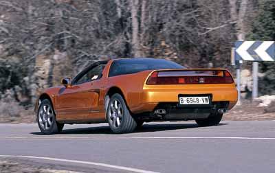 Honda NSX Targa / Porsche 911 Carrera 4 Cabrio