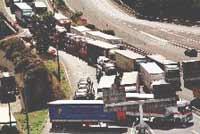 Los camioneros mantienen el bloqueo ante la falta de acuerdo
