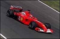 Schumacher no da opciones en la parrilla de Hungría