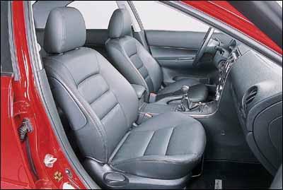 Audi A4 2.4 / Mazda6 2.3