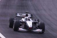 David Coulthard, ganador del Gran Premio de Gran Bretaña