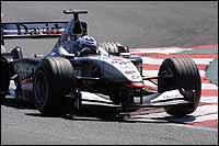 Coulthard y McLaren quieren salvar el honor en casa