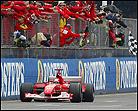 Schumacher no permite bromas en Silverstone