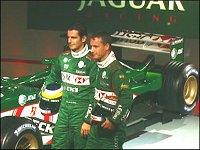 De la Rosa se presenta con el equipo Jaguar