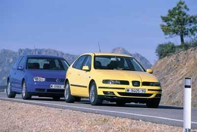 Comparativa: Seat León 1.8T / Volkswagen Golf GTI
